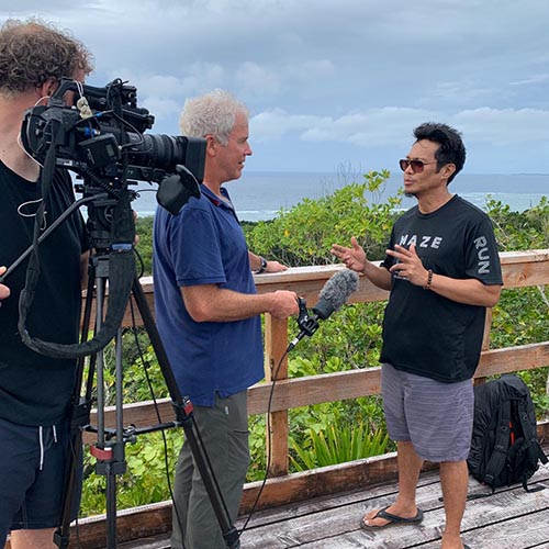 Fixer services palau interview media production