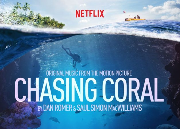 Chasing Corals underwater time-lapse movie poster
