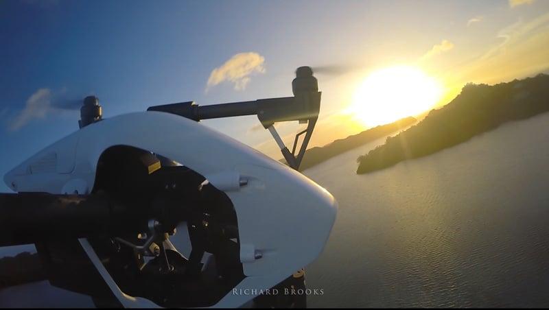 Drone Pilot Palau aerial filming